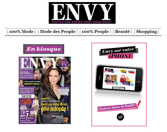 Envy launch title