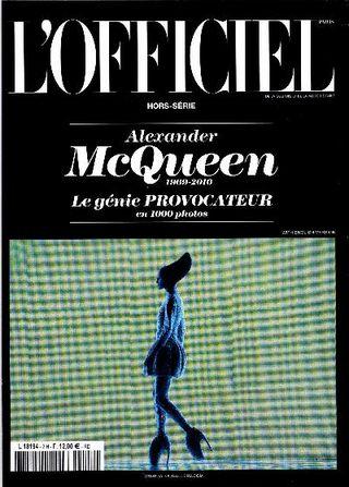 L'officiel McQueen cover