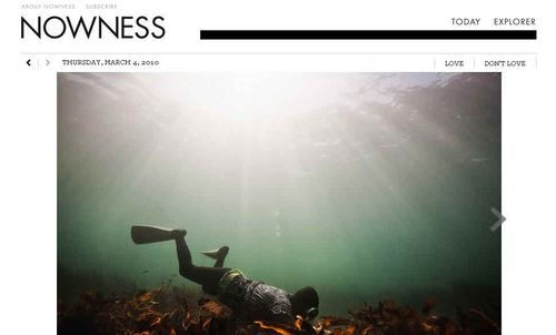 Nowness cover