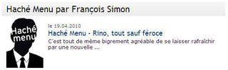 Francois simon